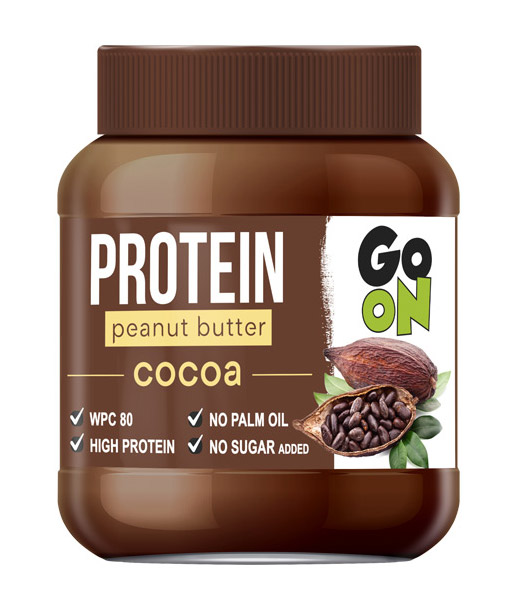 Arašidovo maslo Go On Protein