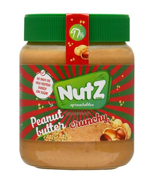 Arašidovo maslo Nutz Crunchy